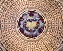 US Capitol - Apotheosis of George Washington by Mitch Catanzaro