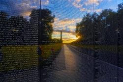 Vietnam Memorial by Mitch Catanzaro