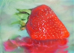 Glazed Strawberry by Hal Halli