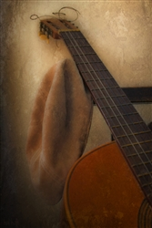Hat & Guitar by Hal Halli