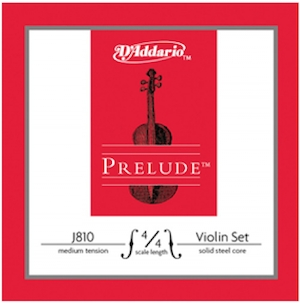 daddario prelude, violin strings