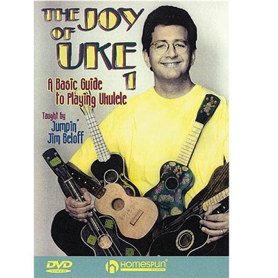 Learn the basics of tuning and holding your uke, 6 classic practice songs included