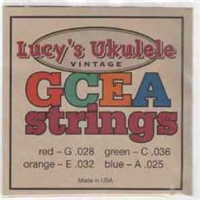 Lucy's Multi Colored Nylon Soprano/Concert Uke