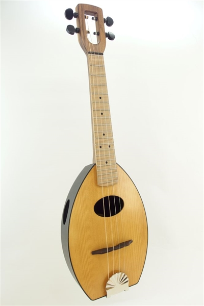 Mandolin Flea,  American made, 4 string mandolin, four string mandolin, travel mandolin, USA made mandolin