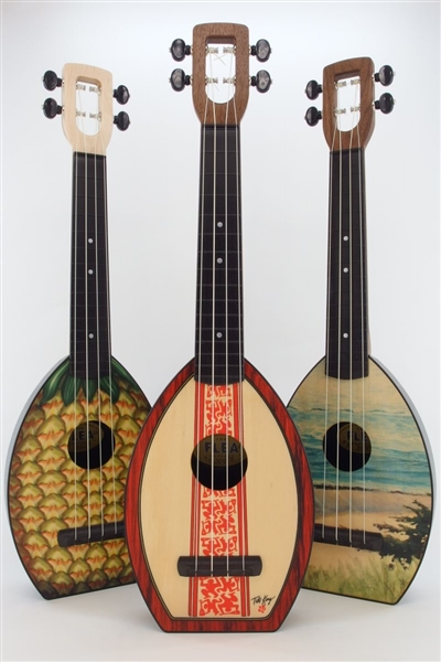 Print Designs Flea Uke, American Made
