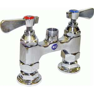 "AA-400 4"" Deck Mount Heavy Duty Bar Sink Faucet BASE ONLY"