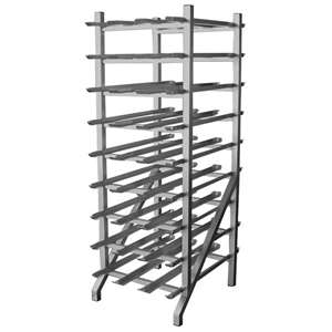 GSW AAR-CRAW All Welded Can Rack
