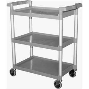 GSW C-23WL Durable Plastic Utility Bus Cart