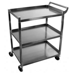 "GSW C-32K 1"" Tubular Utility Bus Cart"