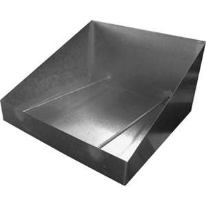 "Galvanized Donut Table Bottom Basket 25""x25""x14"" DN-BS"