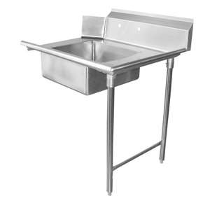 DT24S-R Stainless Steel Dish Table
