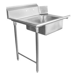 DT36S-L Stainless Steel Dish Table