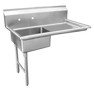 DT48U-L Stainless Steel Under Counter Dish Table