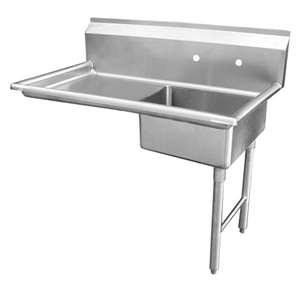 DT48U-R Stainless Steel Under Counter Dish Table