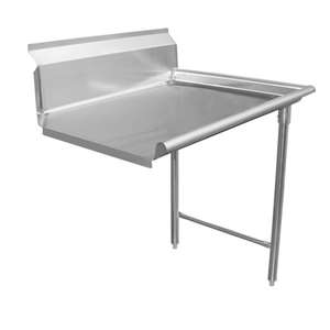 DT72C-R Stainless Steel Dish Table