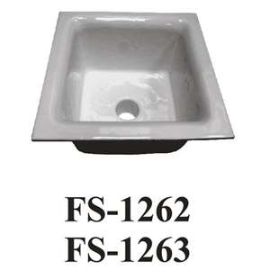 "FS-1263 Floor Sink 12""x12""x6"""