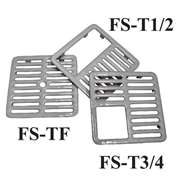 "Top Grate FS-T12 1/2 Full Size 9-3/8"" x 9-3/8"""