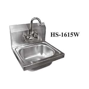 HS-1615WG Wall Mount S/S Hand Sink