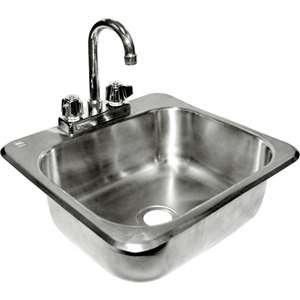 "HS-2017IG S/S 20"" x 17"" Drop-In Hand Sink"
