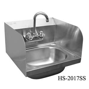 "HS-2017SS Wall Mount Hand Sink 20""x17"""
