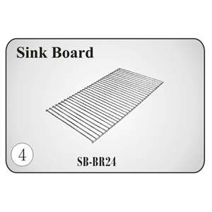 SB-BR24 Compartment Sink Rack