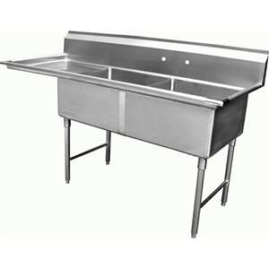 SE18182L 2 Compartment Sink