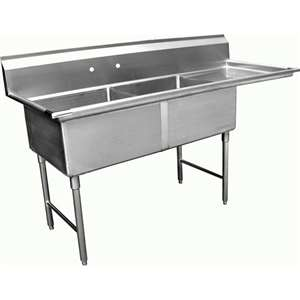 SH24242R 2 Compartment Sink