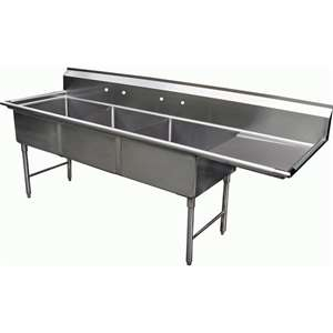 SH24243R 3 Compartment Sink