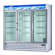 BLUE AIR BAGR72 Glass Door Refrigerator