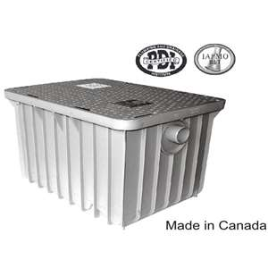 "Canplas Endura Grease Trap Interceptor 4"" 115LB 3935A04"