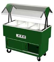 DUKE DPAH-3-HF EconoMate Portable Buffet Table