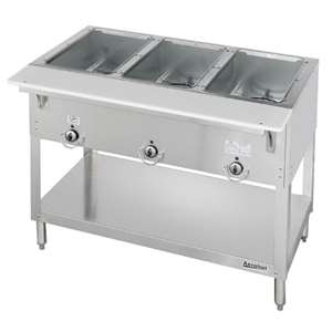 DUKE E303SW Aerohot 3 Well Electric Steamtable