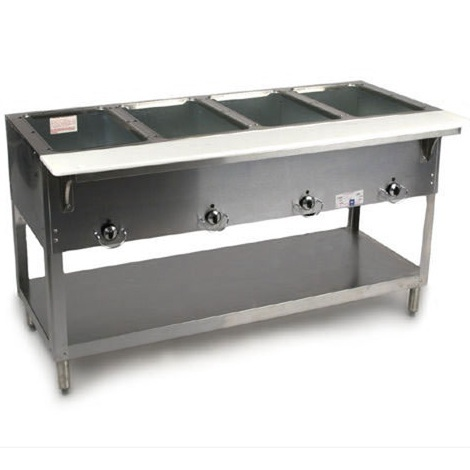 DUKE Aerohot Well Electric Steamtable ESW Kitchen Of Glam - 2 well steam table