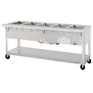 DUKE EP305 Aerohot 5 Well Electric Steamtable