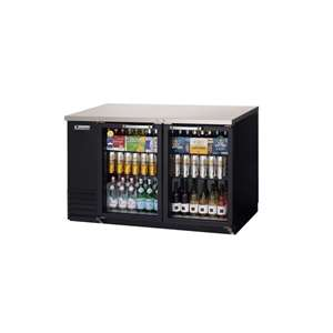 EVEREST EBB59G 2 Glass Door Back Bar Cooler