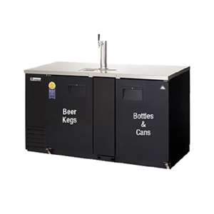 EVEREST EBD3-BB-24 2 Door Back Bar & Beer Dispenser