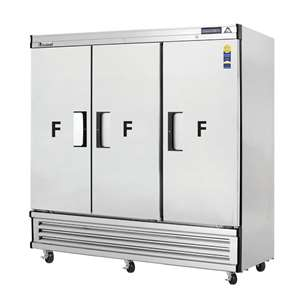 EVEREST EBF3 3 Door Freezer