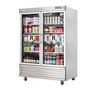 EVEREST EBGR2 2 Glass door Refrigerator