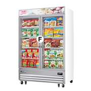 EVEREST EMGF36 2 Glass Door Freezer