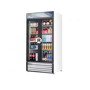 EVEREST EMSGR33 2 Door Refrigerator Merchandiser (Swing)
