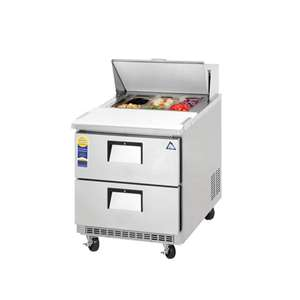 EVEREST EPBNR1-D2 1 Section 2 Drawer Sandwich Prep Table