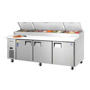 EVEREST EPPR3 3 Door Pizza Prep Table