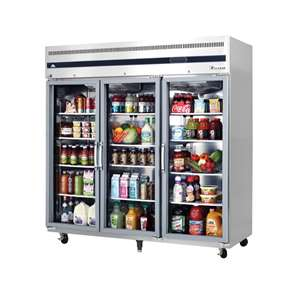 EVEREST ESGR3 3 Glass Door (Swing) Refrigerator