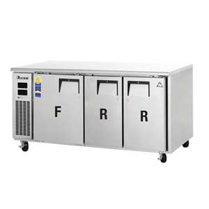 EVEREST ETRF3 3 Door Undercounter