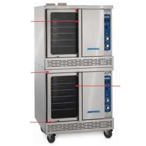 IMPERIAL ICV-2 Heavy Duty Convection Oven