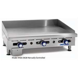 IMPERIAL IMGA-3628 Countertop Manual Griddle