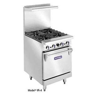 IMPERIAL IR-4 Range With Oven