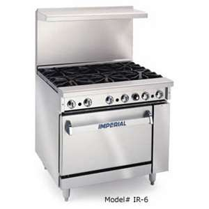 IMPERIAL IR-4-G12 Range With Oven