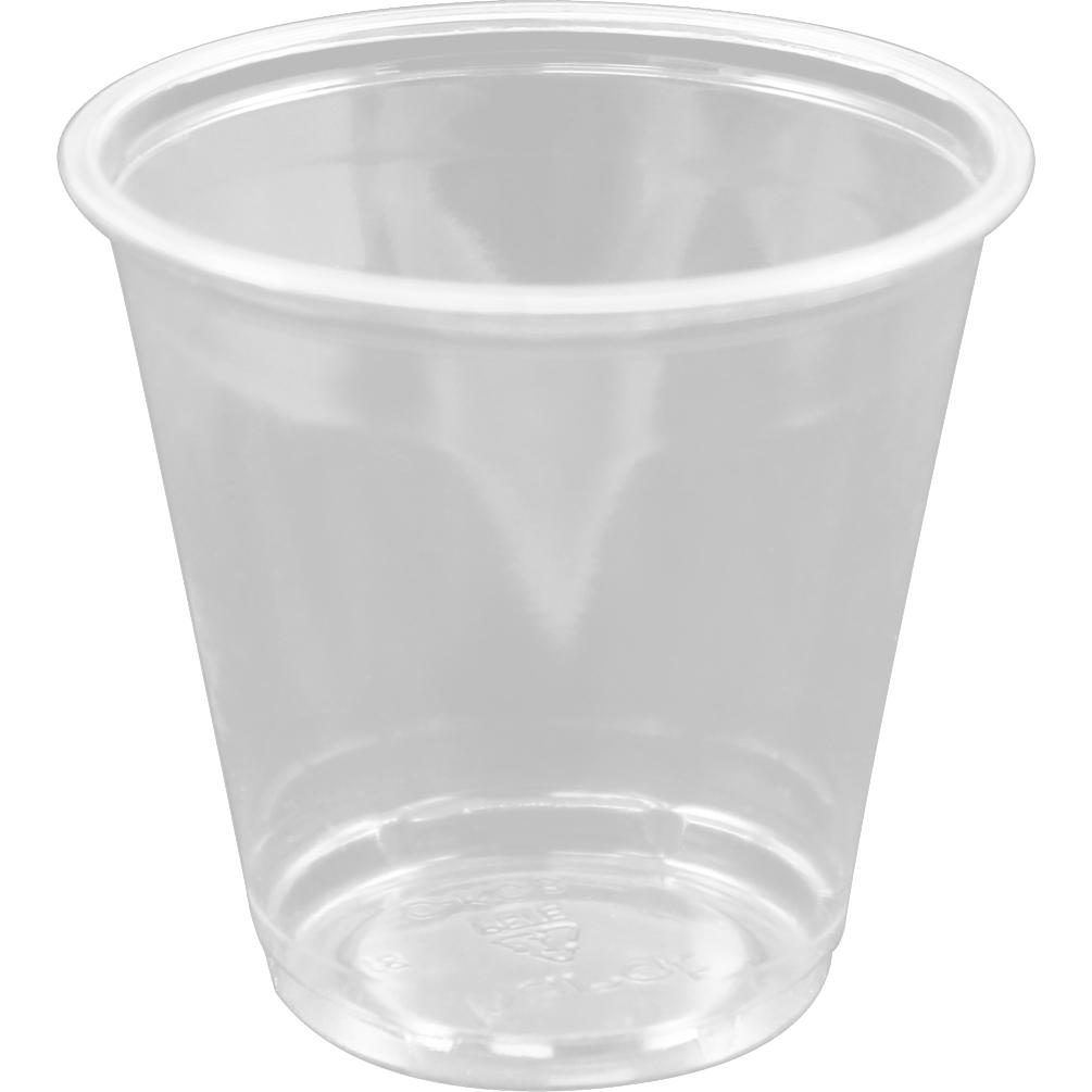 KARAT C KC3 Clear Plastic P.E.T Sampling Cups