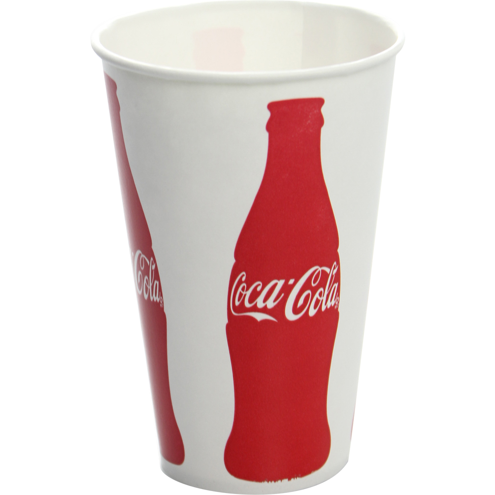 KARAT Cold Paper Cup - C-KCP12-COKE   Kitchen Of Glam